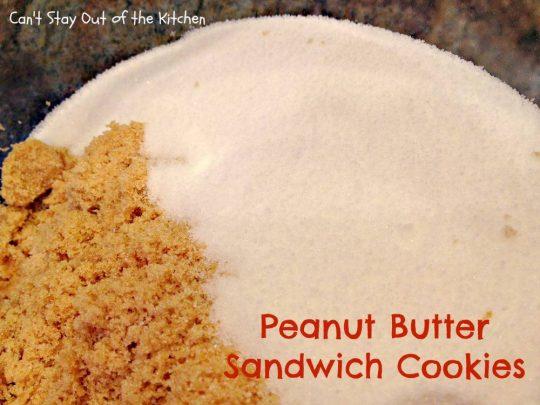 Peanut Butter Sandwich Cookies - IMG_4233