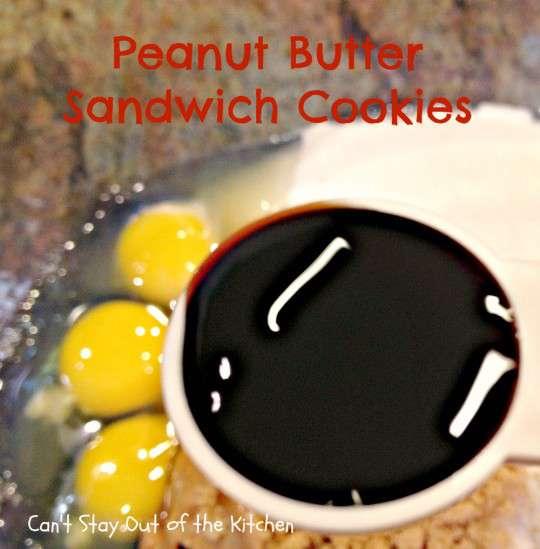 Peanut Butter Sandwich Cookies - IMG_4235
