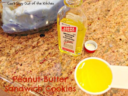 Peanut Butter Sandwich Cookies - IMG_4236