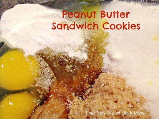 Peanut Butter Sandwich Cookies - IMG_4237