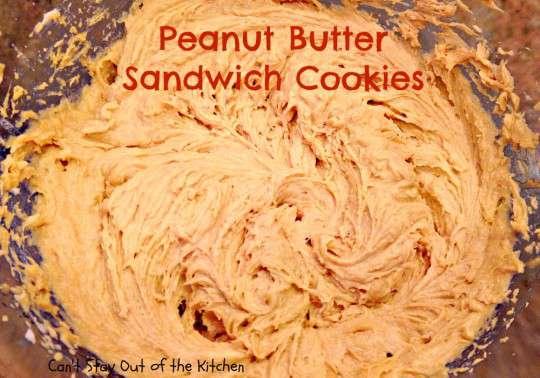Peanut Butter Sandwich Cookies - IMG_4238