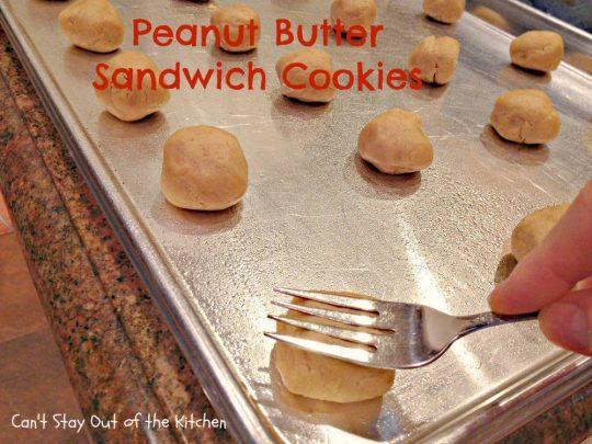 Peanut Butter Sandwich Cookies - IMG_4241