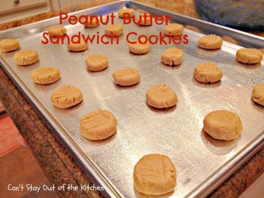 Peanut Butter Sandwich Cookies - IMG_4242