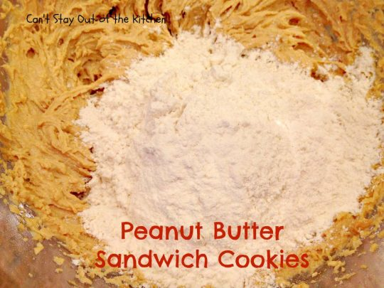 Peanut Butter Sandwich Cookies - IMG_4251