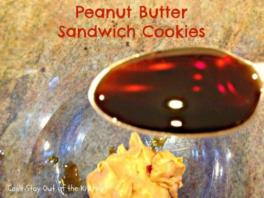 Peanut Butter Sandwich Cookies - IMG_4264