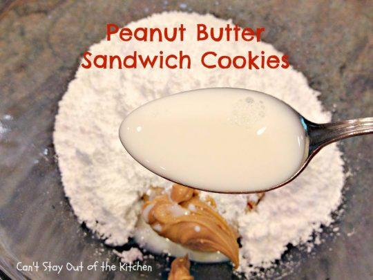 Peanut Butter Sandwich Cookies - IMG_4266