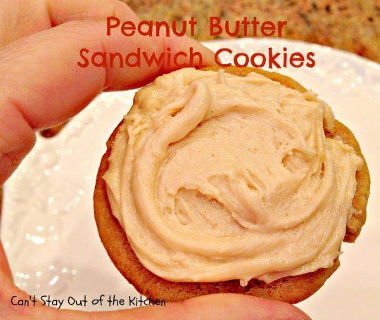 Peanut Butter Sandwich Cookies - IMG_4270