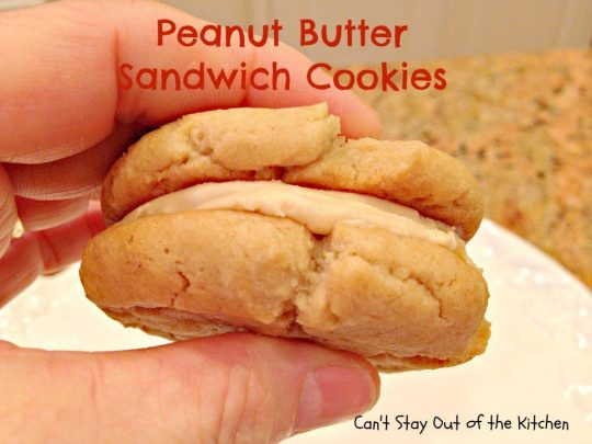 Peanut Butter Sandwich Cookies - IMG_4272