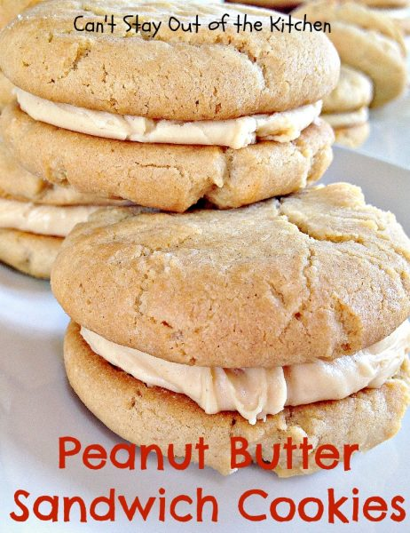 Peanut Butter Sandwich Cookies - IMG_4293