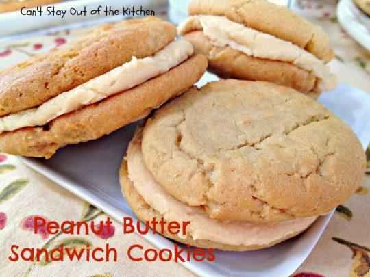 Peanut Butter Sandwich Cookies - IMG_4317