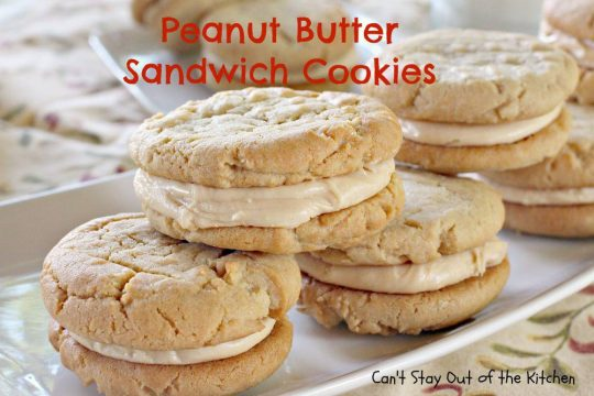 Peanut Butter Sandwich Cookies - IMG_9355