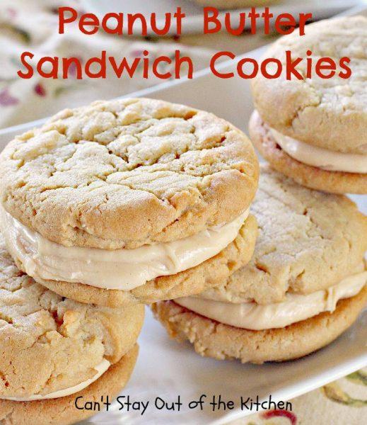 Peanut Butter Sandwich Cookies - IMG_9357