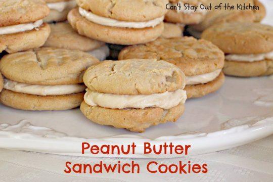 Peanut Butter Sandwich Cookies - IMG_9372