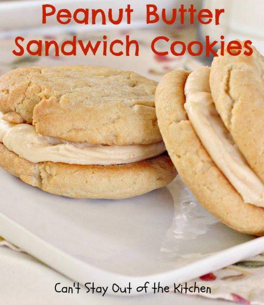 Peanut Butter Sandwich Cookies - IMG_9383