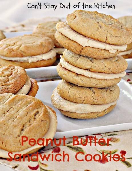 Peanut Butter Sandwich Cookies - IMG_9400