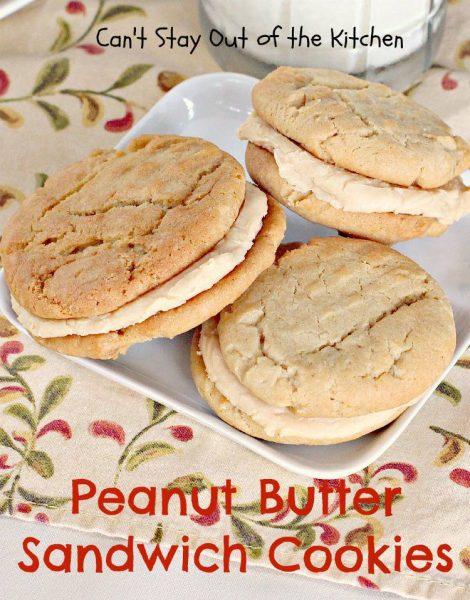 Peanut Butter Sandwich Cookies - IMG_9414