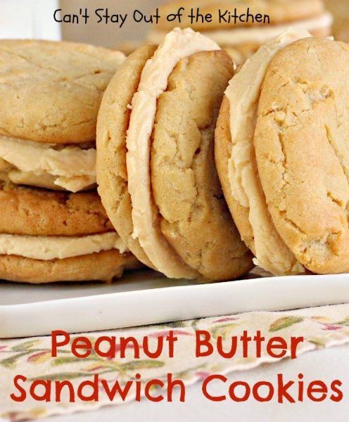 Peanut Butter Sandwich Cookies - IMG_9438