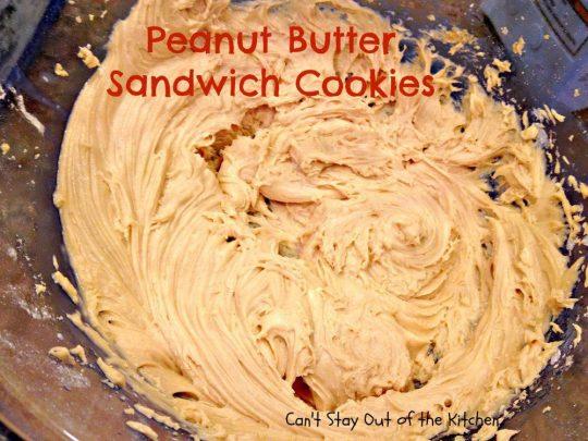 Peanut butter Sandwich Cookies - IMG_4267