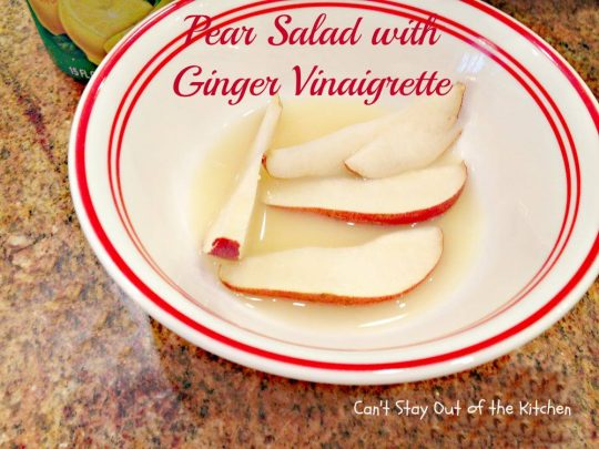 Pear Salad with Ginger Vinaigrette - Recipe Pix 24 218.jpg