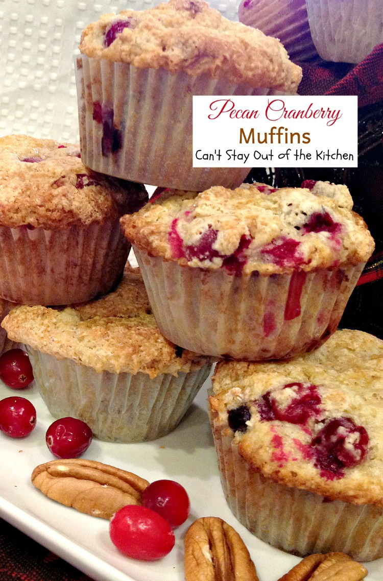 Blackberry Pecan Streusel Muffins - Can't Stay Out of the Kitchen