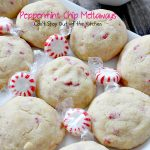 Peppermint Chip Meltaways | Can't Stay Out of the Kitchen | these #cookies just melt in your mouth--literally! #Andes #peppermint baking chips provide breathtaking flavor. #dessert