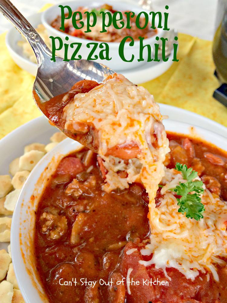 Pepperoni Pizza Chili