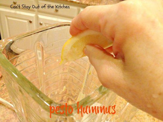 Pesto Hummus - IMG_2563