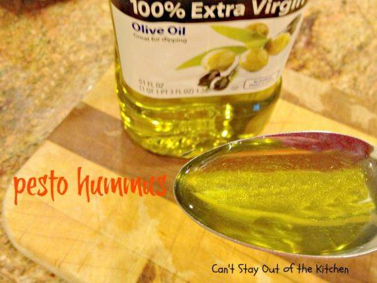 Pesto Hummus - IMG_2564