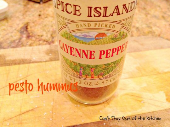 Pesto Hummus - IMG_2566