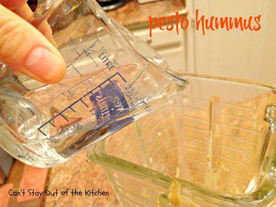 Pesto Hummus - IMG_2568