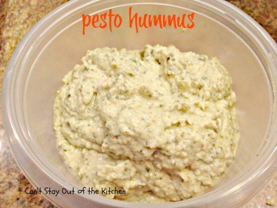 Pesto Hummus - IMG_2571