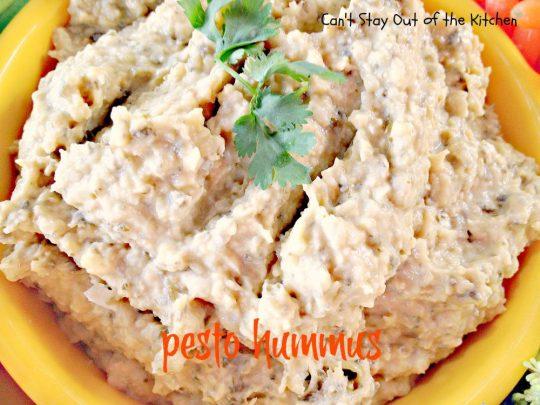 Pesto Hummus - IMG_2682