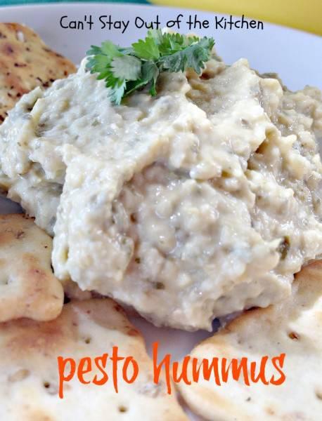 Pesto Hummus - IMG_2689