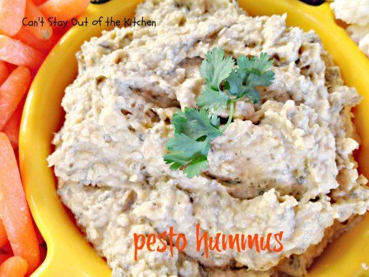 Pesto Hummus - IMG_2703