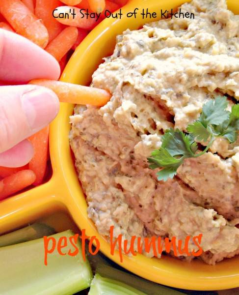 Pesto Hummus - IMG_2708