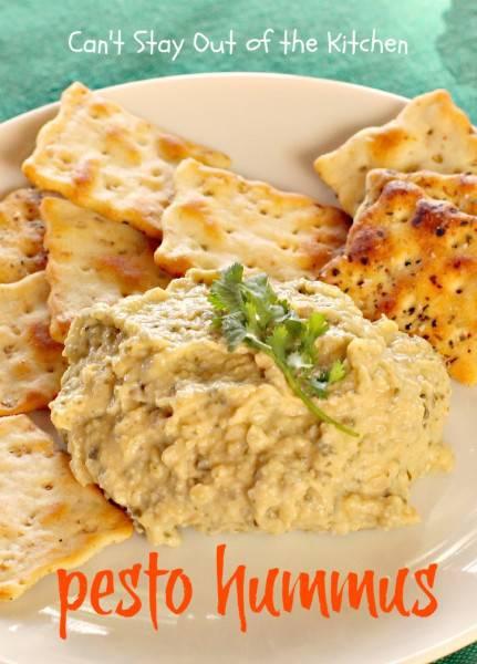 Pesto Hummus - IMG_8065