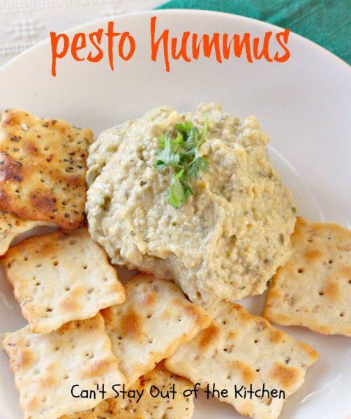 Pesto Hummus - IMG_8107