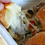 Philly Cheesecake Sliders | Can't Stay Out of the Kitchen