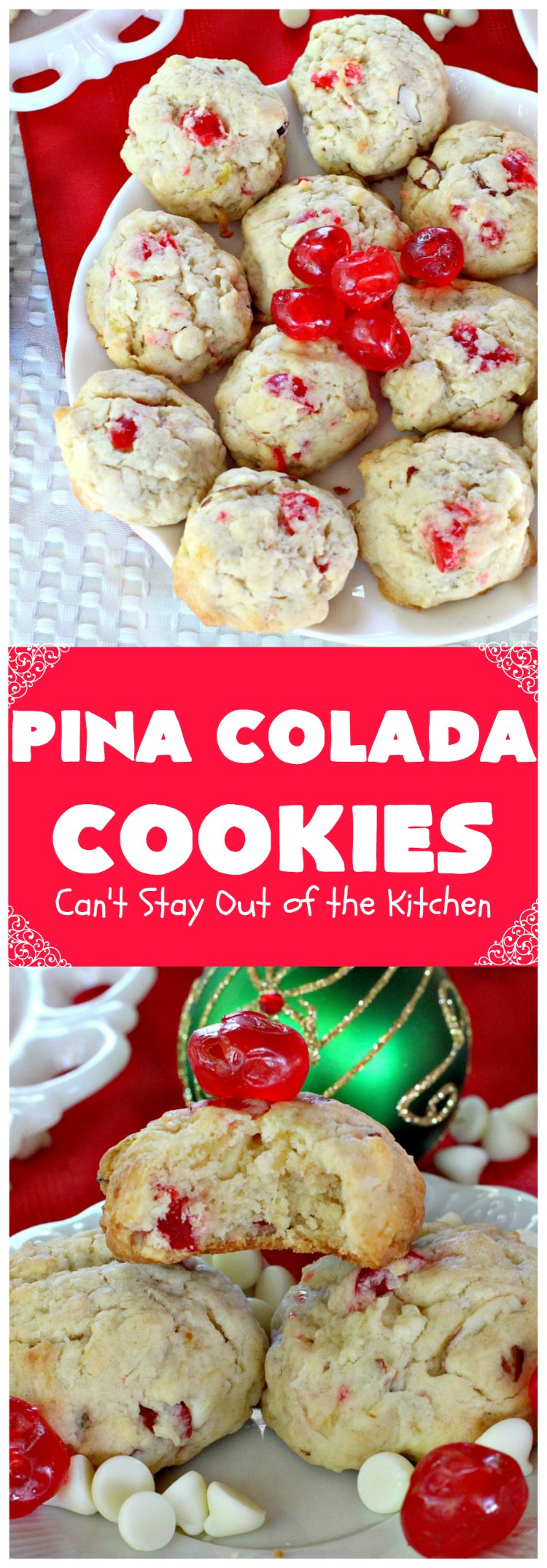 Pina Colada Cookies Can T Stay Out Of The Kitchen