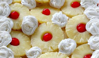 Pina Colada Earthquake Cake