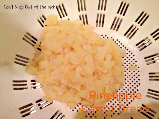 Pineapple Carrot Bread - IMG_0114