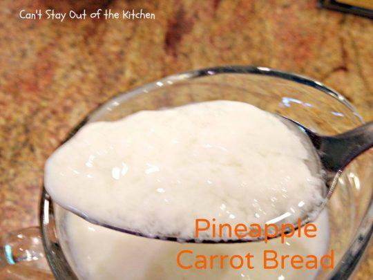 Pineapple Carrot Bread - IMG_0116