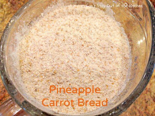 Pineapple Carrot Bread - IMG_0122