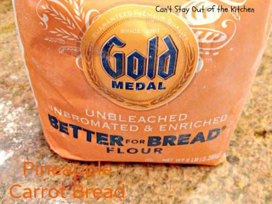 Pineapple Carrot Bread - IMG_0123