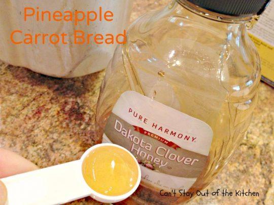 Pineapple Carrot Bread - IMG_0124