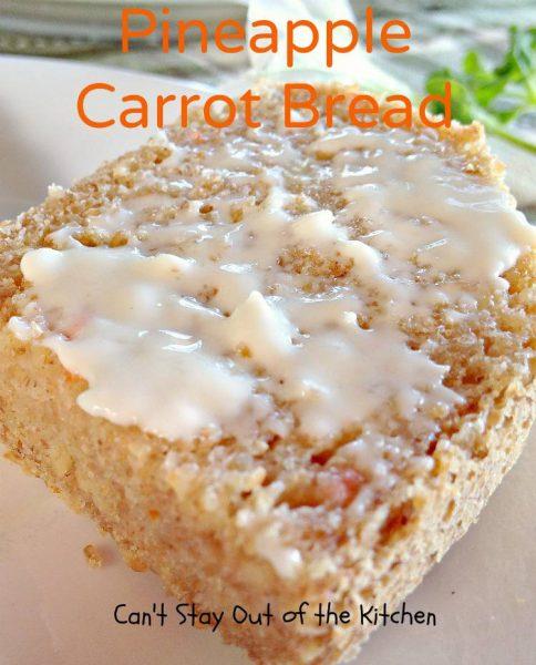 Pineapple Carrot Bread - IMG_0194