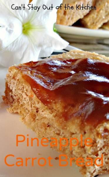 Pineapple Carrot Bread - IMG_0205