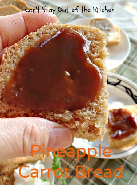Pineapple Carrot Bread - IMG_0228