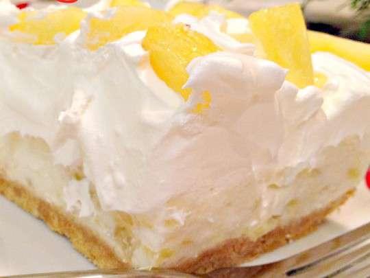 pineapple cream cheese dessert