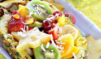 Pineapple Mango Salad